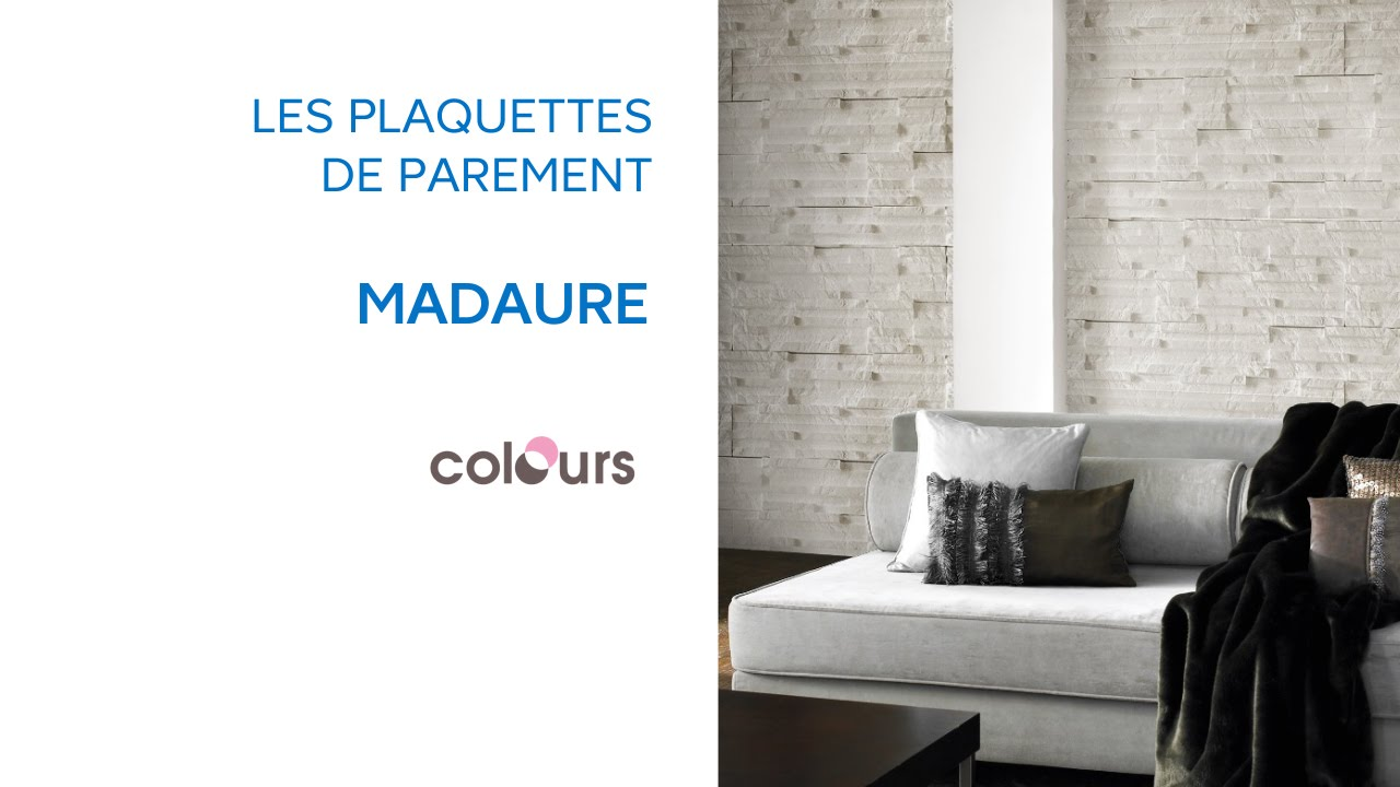 plaquette de parement madaure colours 676391 castorama youtube. Black Bedroom Furniture Sets. Home Design Ideas