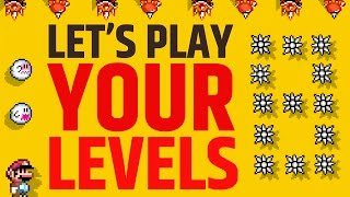 Super Mario Maker - Submit the Your Levels! #8