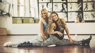 Dance Fitness by Niina and Mariann (DAFT PUNK Get Lucky WILLY WILLIAM & LJ BACHATA REMIX)