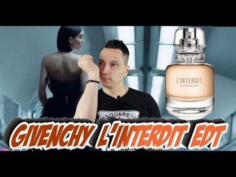 Givenchy LInterdit новый аромат