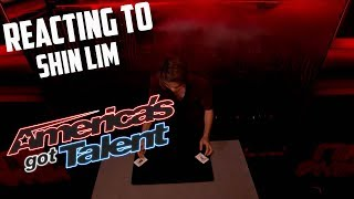 REACTING TO SHIN LIM'S AMAZING AMERICAS GOT TALENT ACTS...