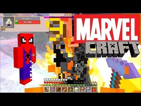 MarvelCraft - Minecraft Mod Showcase