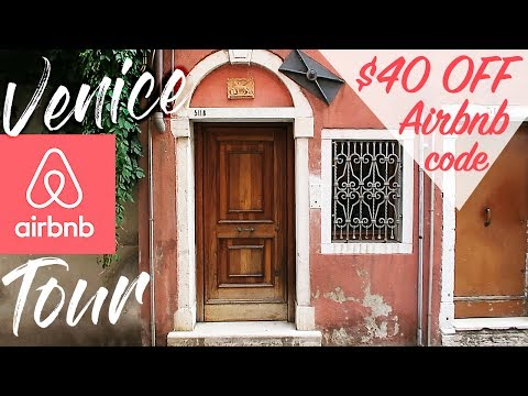 VENICE AIRBNB TOUR // Venice, Italy