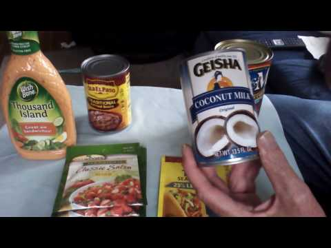 SHTF Food Market Items For Under $11.