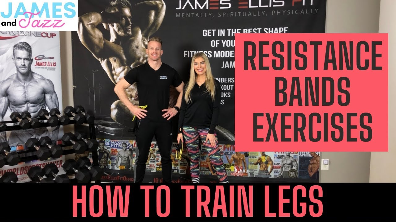 How To Train Legs    Resistance Bands Exercises    Exercise Demonstrations    Glutes    Hamstrings