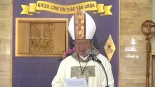 Đức Tổng Giám Mục Phao lô Bùi Văn Đọc ghé thăm GĐTM chiều 12.8.2017