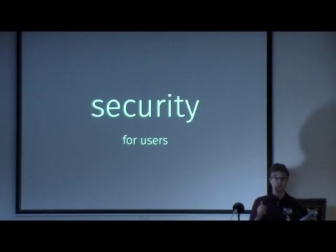 Security and Privacy on the Web  (Linuxfest Northwest 2016)