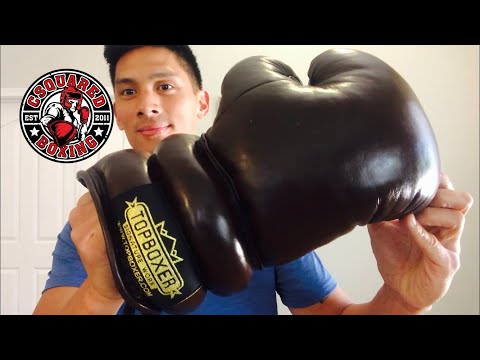 Top Boxer Old School Boxing Gloves REVIEW- GLOVES LIKE DEMPSEY, MARCIANO, AND ROBINSON USED TO WEAR!