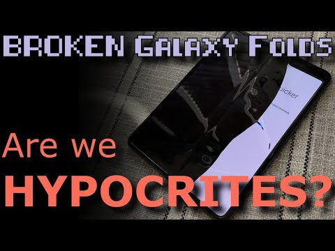 Geek Therapy Radio - Samsung Galaxy Fold: Review units broken after one day!