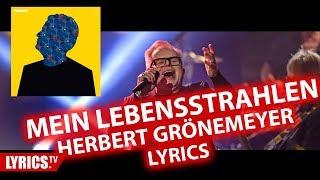 Mein Lebensstrahlen LYRICS | Herbert Grönemeyer | Lyric & Songtext | aus dem Album Tumult