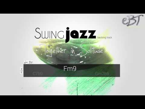 Swing Jazz Backing Track in F Minor | 130 bpm