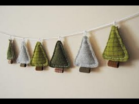 How to make a PRIMITIVE CHRISTMAS ORNAMENT - YouTube
