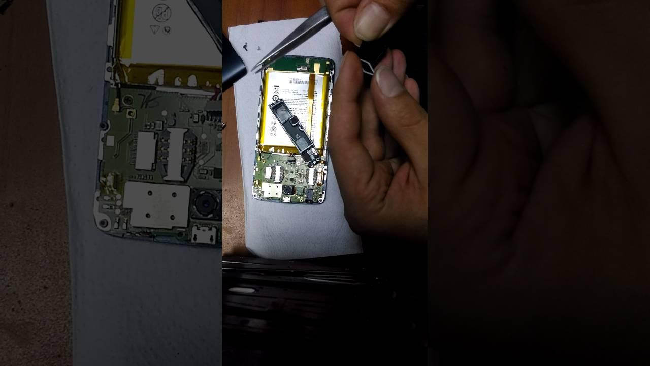 Замена дисплея на Philips Xenium V387. Разборка. Ремонт - YouTube
