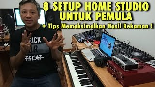 Bikin Studio Rekaman di Rumah + Cara Pasang Alat-alatnya !