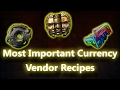 Path of Exile The Most Important Currency Vendor Recipes