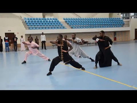 Chinese martial arts start to gain traction in Democratic Republic of Congo