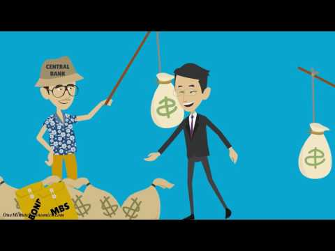 Monetary Easing (aka Quantitative Easing / QE, LTRO, APP and so on) Explained in One Minute