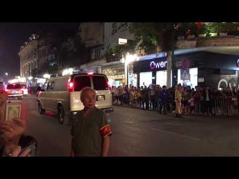Donald Trump leaves Metropole Hotel || 11.11.2017 || Hanoi || 4k