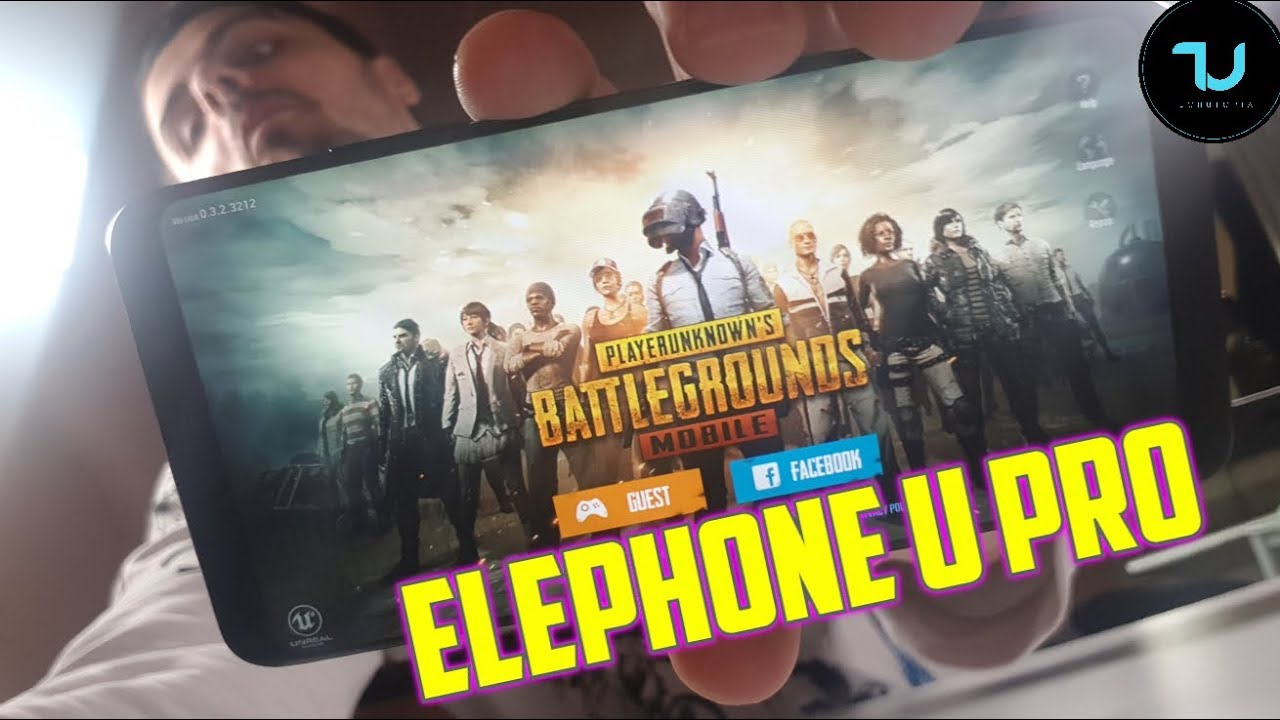 Official Pubg Mobile Gameplay: Elephone U Pro PUBG Mobile Gameplay/Snapdragon 660 High