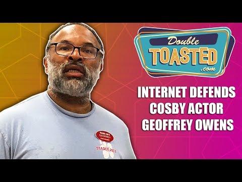 INTERNET DEFENDS COSBY ACTOR GEOFFREY OWENS