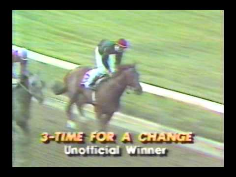 1984 Flamingo Stakes - Time For A Change
