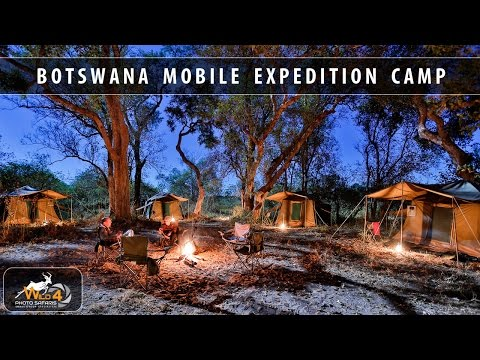 WILD4 PHOTO SAFARIS Botswana Mobile Expedition Camp