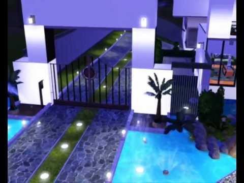 Casa linda the sims 3 youtube - Casas bonitas sims 3 ...