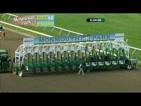 video thumbnail for MONMOUTH PARK 09-13-20 RACE 12
