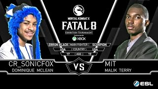Mortal Kombat X Sonic Fox (Erron Black) {Outlaw} Vs MIT (Scorpion) {inferno} Grand Final MKX