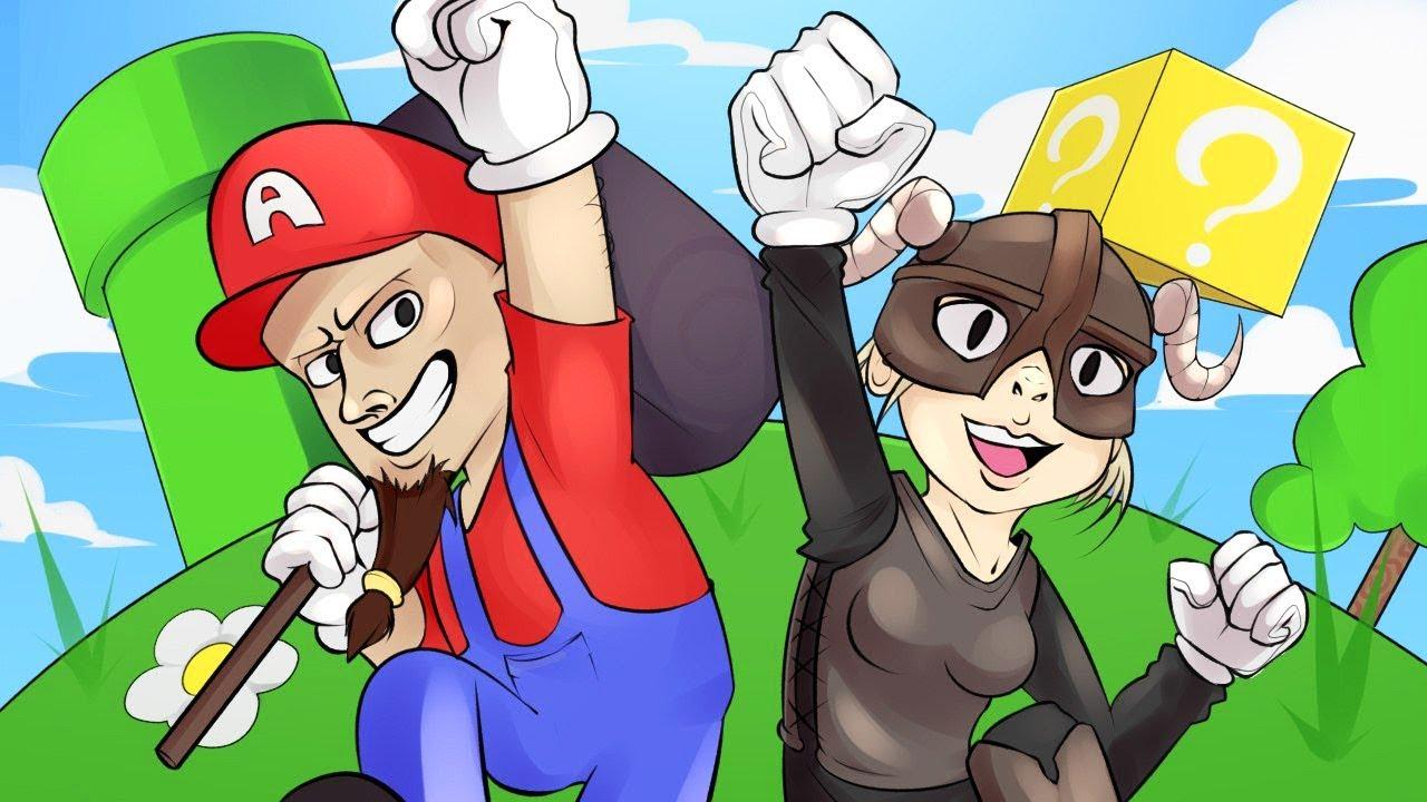 TES V: Skyrim по Сети! - Приколы, Марио, Смешные моменты в Скайрим