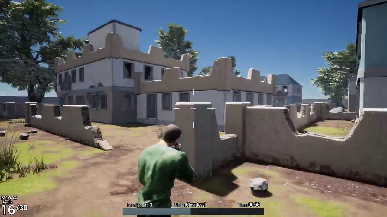 Battle Royale Trainer Gameplay (PC game