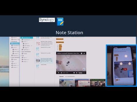 Synology Note Station Teil 1 - Notizen Alternative für Evernote und OneNote - Ohne Cloud - deutsch
