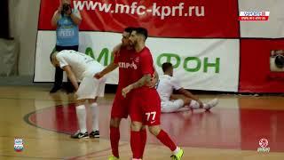 Париматч Суперлига 1 4 плей офф КПРФ Москва Ухта Матч 1
