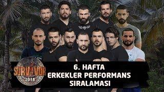 Survivor 2018 | 6. Hafta Erkekler Performans Sıralaması