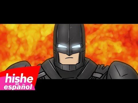BATI-SANGRE Una Parodia De Batman V Superman Y Del Video Bad Blood Ft. Batman