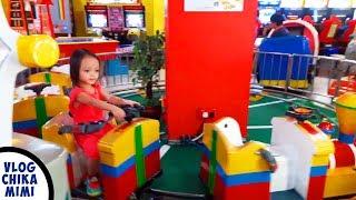 Anak Bermain Naik Kereta Api Odong Odong Lagu Anak Lucu | Kids Ride Mini Train