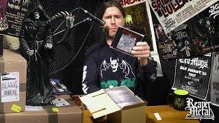 Unboxing HELLRIPPER CDs the latest Reaper Metal release!