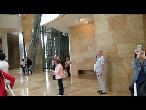 Interior atrium, Guggenheim Museum, Bilbao, Spain, 2016-06-05