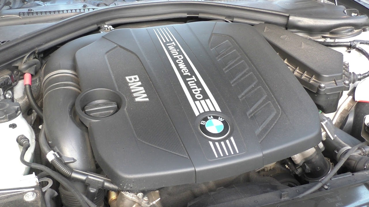 Bmw 330d F30 N57d30 190kw Engine Sound
