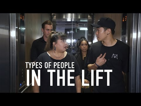Types of People in the Lift