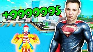 HOW MUCH DO I EARN IN AN HOUR AS A SUPERHERO? | ROBLOX #90 | HouseBox
