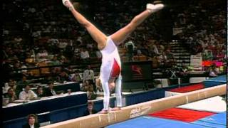Jennie Thompson - Balance Beam - 1996 Olympic Trials - Women - Day 2