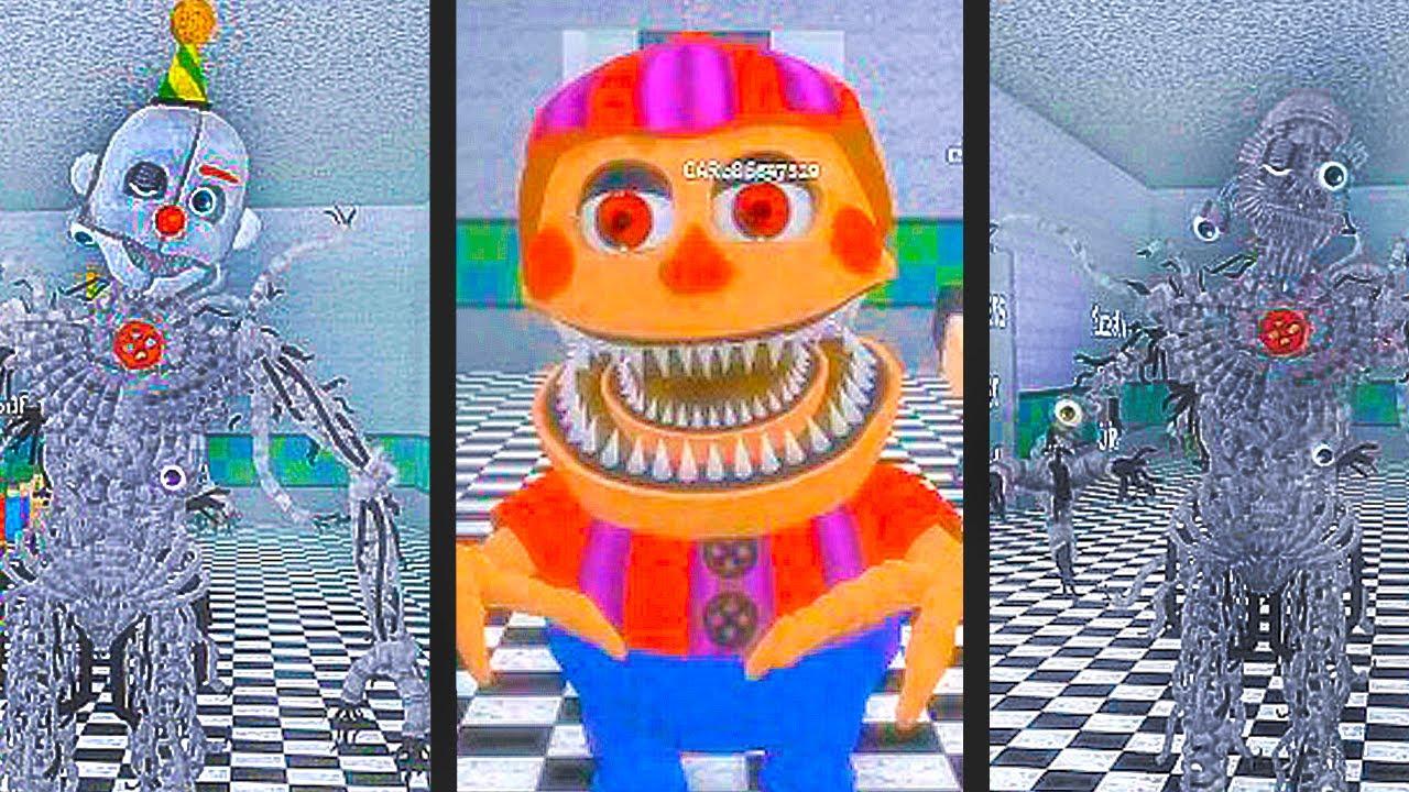 Animatronics Secretos Chegaram No Roblox Fnaf 2 A New Beginning - 5 animatronics secretos escondidos no roblox circus baby s pizza