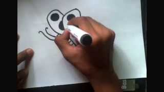 how to draw easy butterfly for kids  butterfly ..প্রজাপতি আঁকা খুব সহজ