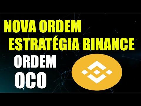 Análise Técnica Bitcoin - Nova Ordem Binance OCO