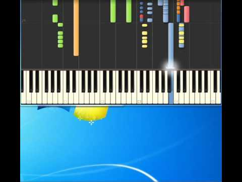 Summer Moved On AHA [Piano tutorial by Synthesia]