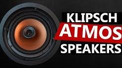 Klipsch CDT-5800-C II Dolby Atmos In-Ceiling Speakers - Unboxing
