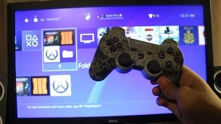 How to Use PS3 Controller on PS4 *EASY METHOD*