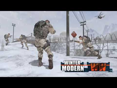Rules of Modern World War Winter FPS Shooting Game 1