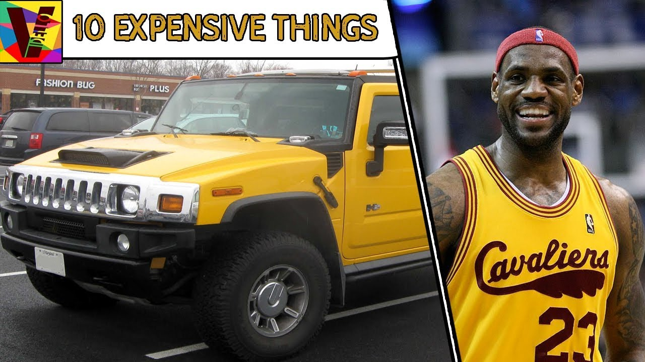 10 Expensive Things Owned By Millionaire Basketball Star LeBron James